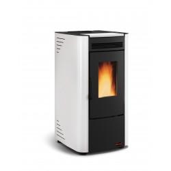 Poêle à granulés de bois en acier étanche - Marque Extra-Flamme - Modèle Ketty