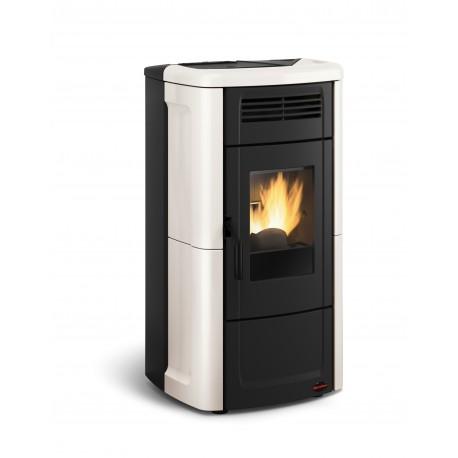 Poêle à granulés de bois en acier étanche - Marque Extra-Flamme - Modèle Vnovella