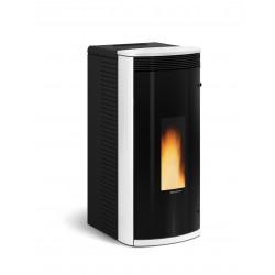 Poêle à granulés de bois en acier étanche - Marque Extra-Flamme - Modèle Sibilla