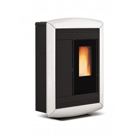 Poêle à granulés de bois en acier étanche - Marque Extra-Flamme - Modèle Souvenir Luxe