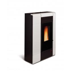 Poêle à granulés de bois en acier étanche - Marque Extra-Flamme - Modèle Ilenia