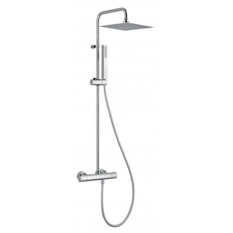 Colonne de douche thermostatique - Marque ALPI - Modèle Design Plus