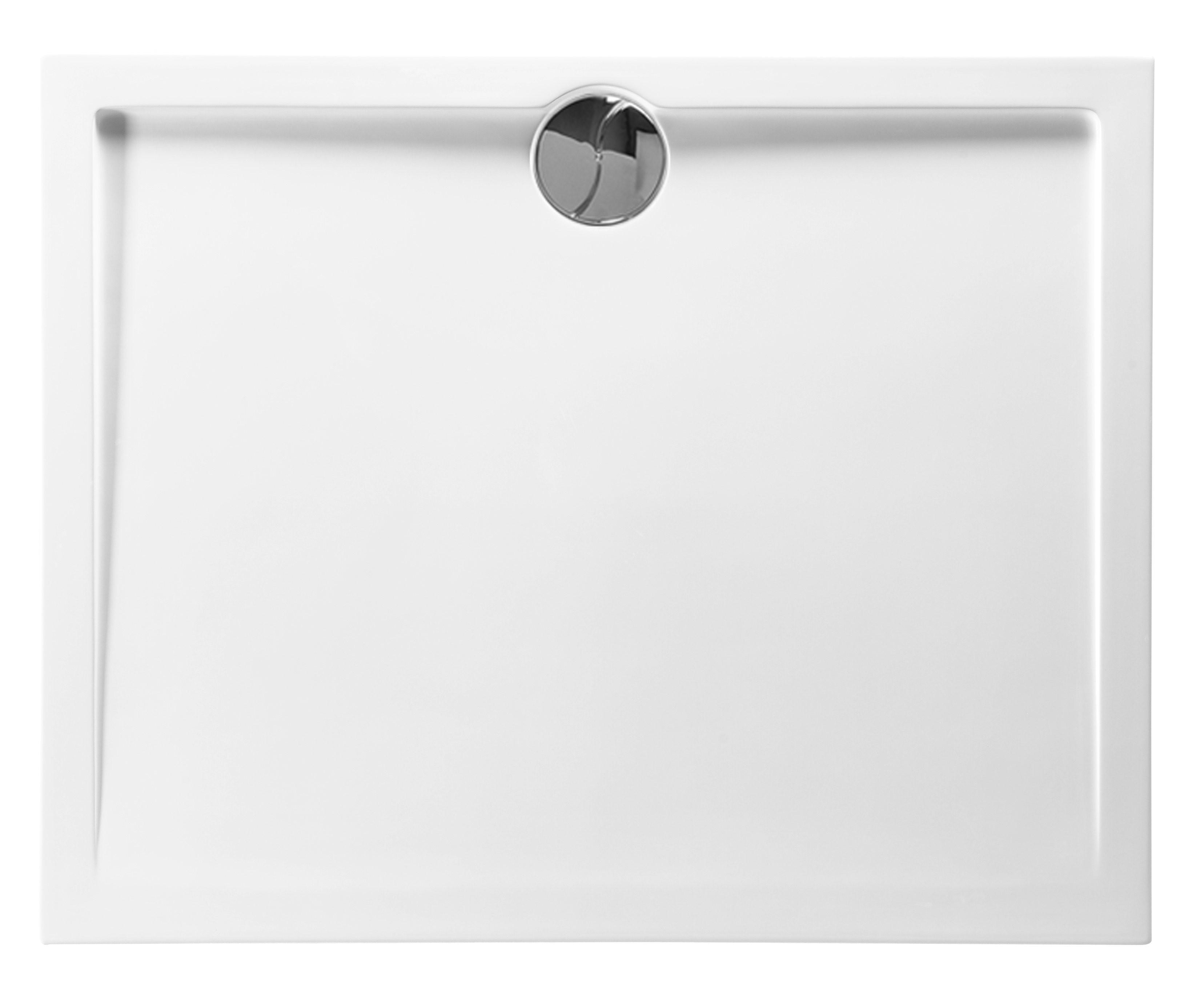 Salle De Bain Parement Baignoire ~ receveur de douche extra plat 100x100x4 cm en puretex avec bonde