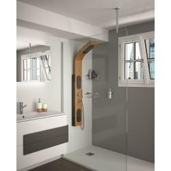 Paroi fixe de douche 1370-1380 cm de marque SALGAR modèle HEAVEN