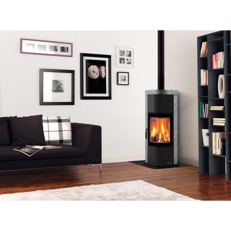 po le bois en fonte marque nordica mod le zen atd home. Black Bedroom Furniture Sets. Home Design Ideas