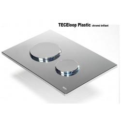 Plaque de déclenchement WC chromé brillant de marque TECE