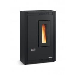 Poêle à granulés de bois en acier - Marque Extra-Flamme - Modèle LUISELLA