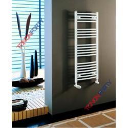 Radiateur sèche-serviettes à eau chaude de marque TONON modèle FLORENCE CINTRE 178,5 x 45 x 50 cm